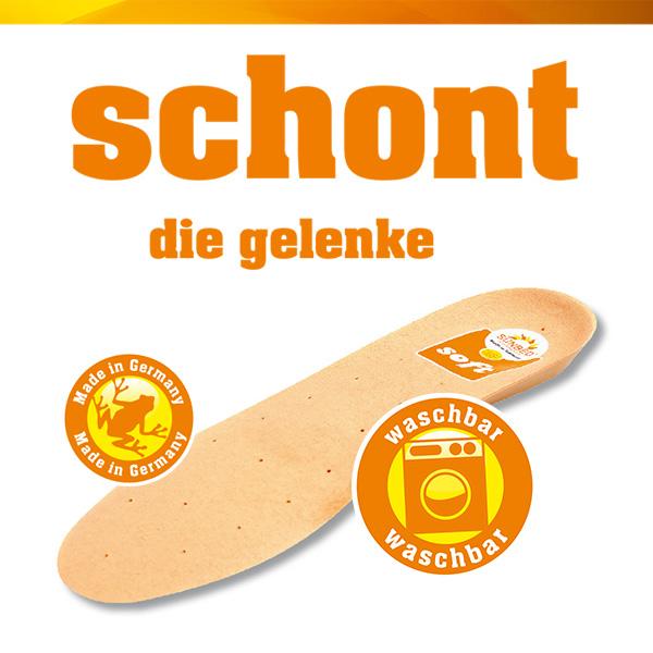 SUNBED-Schuheinlage Soft