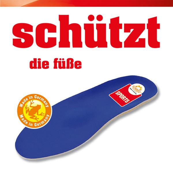 SUNBED-Schuheinlage Sports