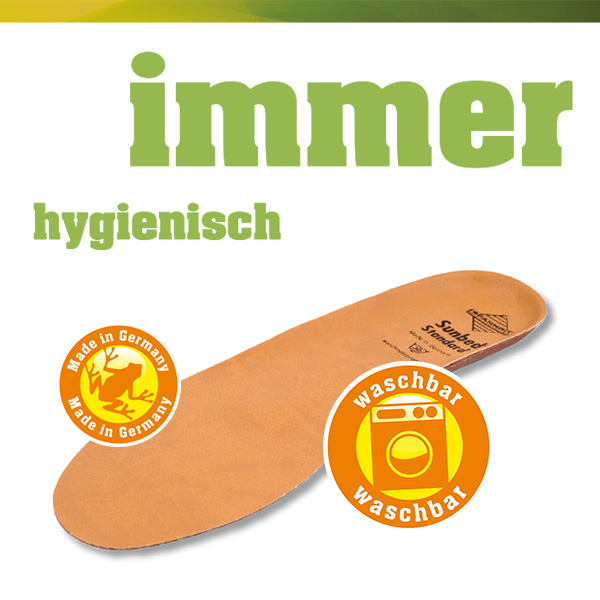 SUNBED-Schuheinlage Standard